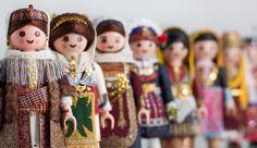 PlaymoGreek: Greek Folk Costumes in Miniature Glory by Petros Kaminiotis Authentic Costumes, Classical Greece, Places In Greece, Folk Dance, Folk Costume, Popular Culture, Mythology, The Past, Greek