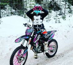 Ideas for dirt bike quotes motocross awesome Motocross Girls, Motocross Gear, Offroad And Motocross, Girl Dirtbike, Motorcross Bike, Ducati, Dirt Bike Girl, Pink Dirt Bike, Pink Jeep