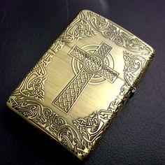 Armor Zippo Lighter Celtic Design
