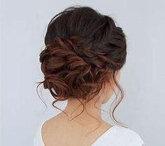 Image result for prom updos for shoulder length hair
