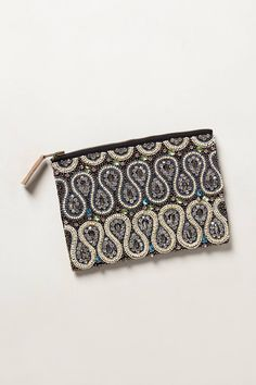 Beaded Lumen Pouch - anthropologie.com