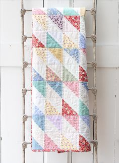 1930's Scrap Quilt - Beech Tree Lane Handmade