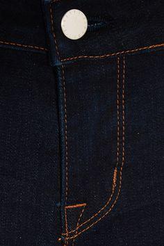L'Agence - Coco Mid-rise Slim-leg Jeans - Midnight blue - 29