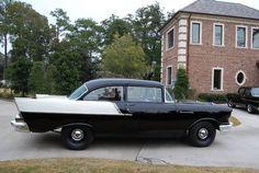 1957 Chevrolet 150 two-door post sedan