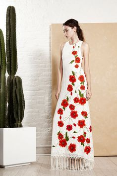 look 22 - Alice + Olivia Spring 2016 Ready-to-Wear Collection Photos - Vogue Runway Fashion, High Fashion, Fashion Show, Fashion Looks, Fashion Trends, Fashion Design, Vogue Fashion, Alice Olivia, Style Work