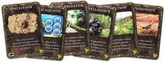 """""""Dominant Species: the Card Game"""" promo card set"""