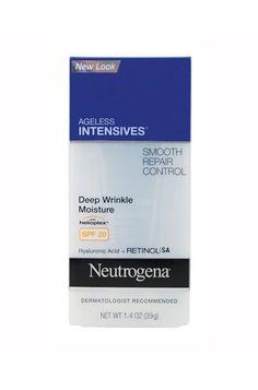 10 Best Anti-Ageing Beauty Products: Neutrogena Ageless Intensive Anti-Wrinkle Moisturiser from Priceline.
