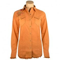 """Rosewood"" Corduroy Western Snap Shirt"