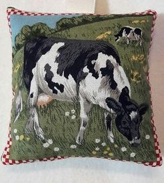 Cow Gift/ Calf Gift / Cow Fabric Lavender Bag / Easter Gift- Handmade