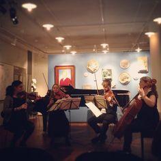 #Strygekvartet #Haydn #kammermusikfestival #smks #carlnielsenmuseet #odense #chambermusic #classical #carlnielsen www.thisisodense.dk/6060/smks-kammermusik-festival