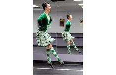 Katie Lee, who won the Junior World Highland Dancing Championship at the Cowal Highland Gathering in Dunoon, Scotland last August will compete against the very best in her age-group here in Edmonton.