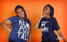 """Justin Bieber has nothing on these girls! Jeromesha (left) and Jamiya from Little Rock, Arkansas, show off their """"swag"""" during """"Respect My SWAG"""" week, a campaign created by the Little Rock Youth Council encouraging teens to have self-respect and positive self-image."""
