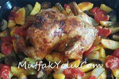 Firinda tavuk kızartması