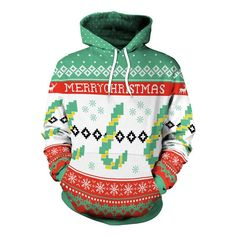 Womens Cropped Hoodie,Colorful Nature Winter Season Inspirations Snowflakes December Christmas Theme Print,S-XL
