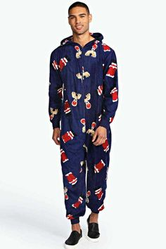 Footie Pajamas for Adults with Butt Flap Italian Scooter Fleece ...