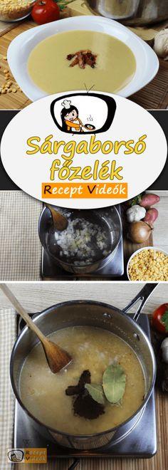 Sárgaborsó főzelék Kitchen, Recipes, Cucina, Cooking, Rezepte, Kitchens, Recipe, Stove