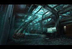 Interior concept work by ~alexdrummo on deviantART