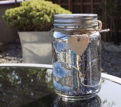 Firefly Mason Jar - Silver
