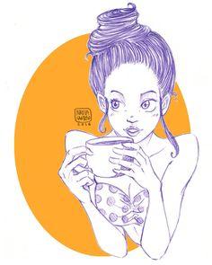 More Coffee! by chuunin7.deviantart.com on @DeviantArt