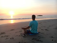 Meditate at the beac