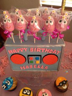 Cake pops Tema infantil yo gabba gabba Creación de Silvia's Cake
