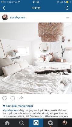 Bedroom, malm, ikea, sinnerlig, diy, brimnes, bed,                                                                                                                                                                                 More Room, Brimnes Bed, Sleeping Room, Bedroom Inspirations, Bedding Inspiration, Bed, Small Bedroom, Bedroom, New Room