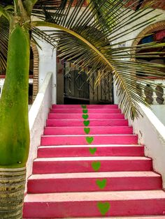 #sayulita #mexico #rosamexicano #stairs Mexican Interior Design, I Love Mexico, Beautiful Space, Stairs, Interiors, Country, Places, Color, Home Decor