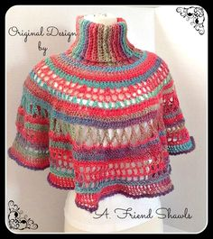 60 melhores imagens de croche shawls no Pinterest em 2018  211107175ee