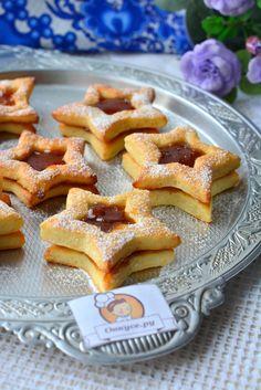 Печенье творожное с вареньем