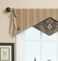 valance patterns | ... | Reversible Window Valance | Home Decorating | Butterick Patterns