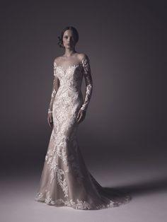 Harper wedding dress fit-n-flare wedding gown | read more on I take you - UK #wedding blog