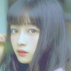 Aesthetic Photo, Aesthetic Girl, Girl Face, Woman Face, Japanese Beauty, Asian Beauty, Cute Girls, Cute Asian Girls, Pretty Korean Girls