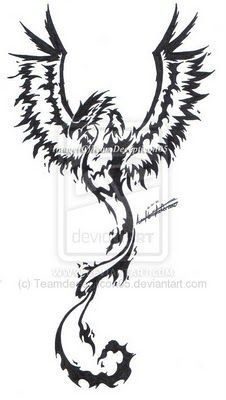 Phoenix tattoo designs for men | Like Tattoomy tat im gna get added to make into sleve what you think ?:
