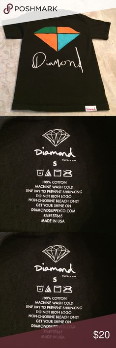Diamond Supply Co mens tshirt  Diamond Supply Co me s tshirt. EXCELLENT condition. Small  Diamond Supply Co. Shirts Tees - Short Sleeve