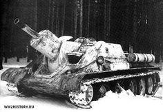 Советская самоходная артиллерийская установка (САУ) СУ - 122 » Танки, САУ, Артиллерия, стрелковое оружие, минное оружие, авиация, инженерная техника сражавшихся сторон. Тайны Второй мировой войны.Битвы, сражения Второй мировой войны на WW2History.ru