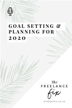 Goal Settings & Planning for 2020 (FREE Workbook) Goal Settings, Setting Goals, Branding Design, How To Get, Free, Corporate Design, Identity Branding, Brand Design