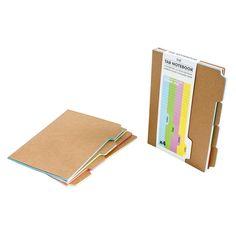 The Tab Notebook van Suck UK bestel je bij Cadeau. College Notebook, About Me Activities, Cool Notebooks, Journals, Baby Memories, Room Essentials, Bookbinding, Getting Organized, School Supplies