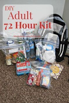 Investing in survival gear can significantly improve your chances of surviving a natural disaster. You should put together an extensive survival kit and work on your survival skills as much as possible. Read the . 72 Hour Emergency Kit, Emergency Binder, 72 Hour Kits, Emergency Preparation, Emergency Supplies, Survival Supplies, Emergency Backpack, Emergency Planning, Family Emergency