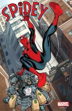"Images for : FIRST LOOK: Marvel Debuts ""Spidey"" Interior Art - Comic Book Resources"