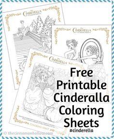 (Cinderella Coloring