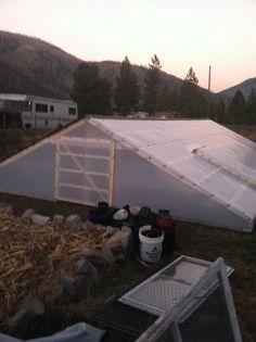 wilipini underground greenhouse in zone 4b, going to grow citrus