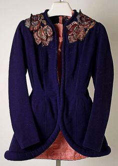 Elsa Schiaparelli jacket, 1938. Gift from Geoffrey Beene to The Metropolitan Museum of Art.