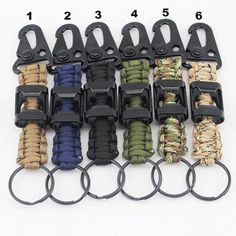Package includes Paracord key chain with clip and bottle opener attached Drop Ceiling Tiles, Dropped Ceiling, Survival Equipment, Survival Gear, Bottle Opener Keychain, Parachute Cord, Climbing Rope, 550 Paracord, Leather