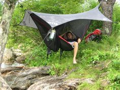 ENO OneLink Sleep System Best camping gear I've ever bought. Will never sleep in a tent again.