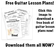 teach wombat: looks like a good collection of free but realistic resources for teaching guitar