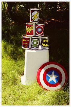 Superhero Training Camp Birthday Party #birthday #superhero www.3dotdesignstudio.com