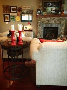 "Thank you to our customer who sent us these photos of her new ""Cog"" nesting side tables in her home. They look amazing!"