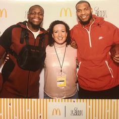 Mohamed Sanu of the Atlanta Falcons and Eric Ebron of the Indianapolis Colts are in town for Super Bowl 53 in Atlanta and supporting the 100 Black Men of Atlanta.  McDonald's and 100 Black Men of Atlanta have teamed up to give local families an unforgettable day of fun at NFL Play. Families get to interact with NFL players, get the full game day experience and a chance to win tickets to the big game. Blog post on Simply Amazing Living coming soon with all details. #superbowl #mcdonalds #atl