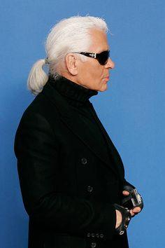 Karl Lagerfeld Karl Lagerfeld, Gordon Parks, Isabeli Fontana, Laetitia Casta, Fendi, Diane Kruger, Claudia Schiffer, Pierre Cardin, Cara Delevingne