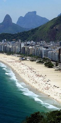 Copacabana, Rio De Janeiro, Brazil. Coolest city ever. The nicest people I've ever met.